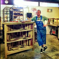 Visited www.BarrellyMadeIt.com studio today, picking out a housewarming gift for a very special friend. Their stuff is amazing-- look at that custom piece Gustaf is working on for a Rancho Santa Fe client!!