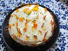 Citromos vaníliás torta