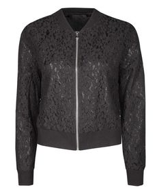 Another great find on #zulily! Black Lace Jacket #zulilyfinds