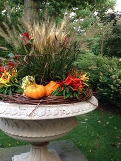 Container Gardens - Fall - Cording Landscape Design