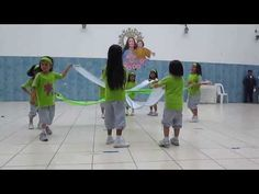 GIMNASIA RITMICA NIVEL INICIAL 5 AÑOS COLEGIO MARIA AUXILIADORA - YouTube