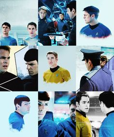 Star Trek | Kirk, Spock and McCoy