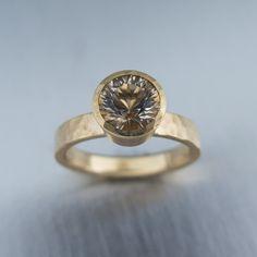 Champagne Oregon Sunstone Engagement Ring Jewelry Pinterest