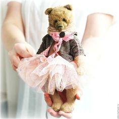 Teddy bear / Мишки Тедди ручной работы. Ярмарка Мастеров - ручная работа. Купить VERSALE. Handmade. Бежевый, коллекционные медведи, нежность