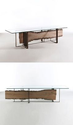 Luca Scacchetti Cornice Table – Tables and desk ideas Furniture Dining Table, Dinning Table, A Table, Wood Table Design, Table Frame, Metal Structure, Design Furniture, Table Legs, Wooden Tables