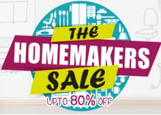 Shopclues The Homemakers Sale Offer : Upto 80% off on Popular Categories - Best Online Offer