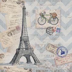 Bon Voyage I Canvas Print / Canvas Art by Paul Brent