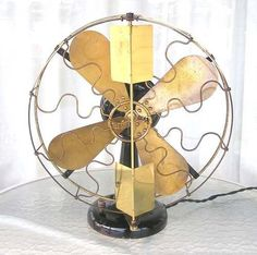 Love love love antique electric fans.