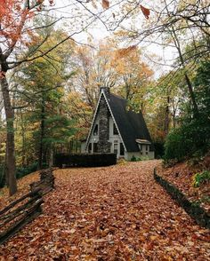 Fall A-frame - By Lewis Hackett