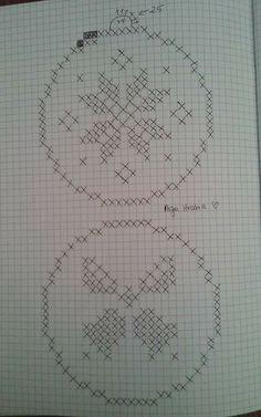Simple Cross Stitch, Cross Stitch Flowers, Fair Isle Knitting Patterns, Crochet Patterns, Cross Stitch Designs, Cross Stitch Patterns, Cross Stitching, Cross Stitch Embroidery, Crochet Stone