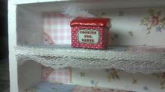Miniatur Puppenhaus Dose 1 :12 Cookies for Santa von minis4you