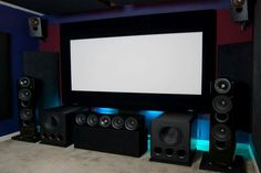 Kef Reference & SVS PB13 Ultra's in a home theater set up