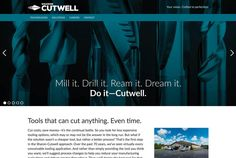 MZ took an up-close look at what the pros at Sharon-Cutwell do, highlighted the beauty and brawn of their tungsten carbide creations, and identified the Cutwell advantage—they design and build time machines. Great product photography, compelling copywriting and meaningful value propositions come together on this mobile-friendly website design. The design started by developing wire frames to determine website architecture.  #mobilefriendlywebsitedesign #creatingabrandidentity
