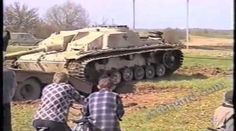 German WW2 StuG-40 Tank Dug Out From Russian Bog After 60 Odd Years [Video]