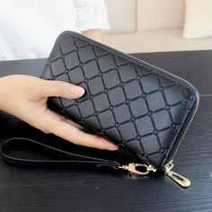 2017 High Quality Female Wallet Women Purse Luxury Brand Long Wallet Day Clutch Change Coin Card Bag Female Clutch Carteras #Affiliate