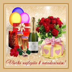 <<Všetko najlepšie k narodeninám !>> Table Decorations, Facebook, Frame, Picture Frame, Frames, Dinner Table Decorations