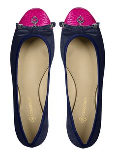 """Ballerina """"Carrie"""" in blau & pink von Limberry"""