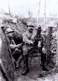 1916 - Aisne - Grenade launcher,