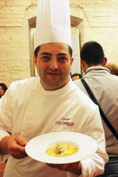 Lo chef Cappelluti Luca - Ristorante Convivio Ruvo di Puglia #lezionidicucina #cucina #costadeitrullicookingclass #cookingclass #puglia