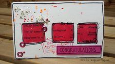 Aujourd'hui voici une carte réalisée pour le challenge du mois d'Août sur Infinimentscrap Les consignes à respecter étaient : - un tampon de fond - un tampon monté sur 3D - un tampon en couleur et voici ma carte voilà ! Elle est déjà dans la boite aux...