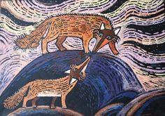 akasi | пастель Wax Crayons, Graphic Design Art, Painting & Drawing, Psychedelic, Folk Art, Illustration, Whimsical, Disney Characters, Fictional Characters