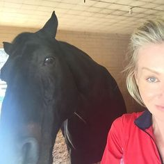 Portia and her horse