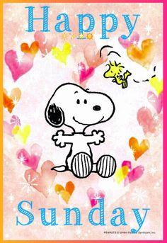 Sunday, Sundae, Some day - Sonntagsgrüße Bilder Good Morning Snoopy, Happy Sunday Morning, Happy Sunday Quotes, Blessed Sunday, Good Morning Gif, Happy Weekend, Morning Quotes, Weekend Days, Sassy Quotes