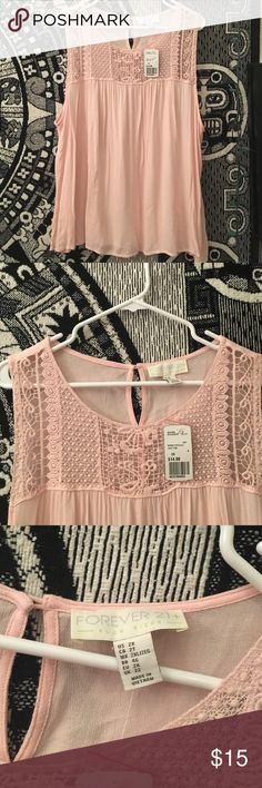 ‼️NWT Pink Shirt Selling this cute pink shirt. Never been worn or tried on.    🚫DON'T TRADE 💜OPEN TO OFFERS 🎀ALWAYS A SALE (I like to change it up) 💎 LOVE SHARING OTHER PEOPLES ITEMS 🍑 FAST SHIPPER 🌺 SAVE MONEY N BUNDLE 👍🏼 ONLY SHIP ON WEEKDAYS. (I usually work every weekend. The post offices are closed when I get off) 👑if you have any questions, feel free to ask Forever 21 Tops Tees - Short Sleeve