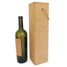 Kork Flaschenbox «Square» von CorkLane – Online kaufen bei Korkeria Square, Cork, Wine, Drinks, Bottle, Wine Bottles, Natural Colors, Household, Drinking