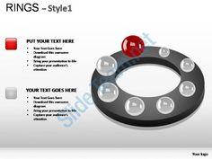 rings style 1 powerpoint presentation slides Slide01