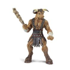 This is a Minotaur figure that is produced by Safari Ltd. Safari is best known for their high quality animal figure and things related to the life sciences, but