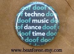 doof doof techno music dance time magnet