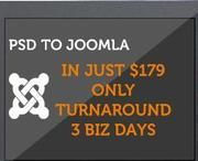 CSS4Me the mounting PSD to Joomla Skin Integration Company