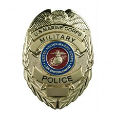 USMC Military Police Badge