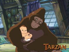 Day 24: Favorite Parent ~ Kala from Tarzan