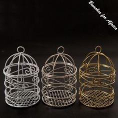 Tiny Birdcages that be brought @ Bunches for Africa Online Shop www.bunchesforafrica.com