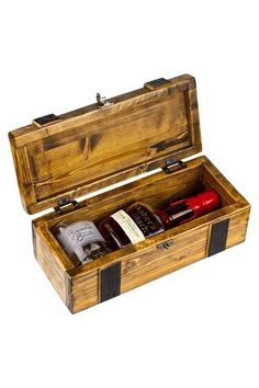 Bourbon & Boots Whiskey Storage Box