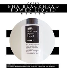 Before and After review on the popular COSRX BHA Blackhead Power Liquid! The best BHA to get rid of acne scars, get rid of blackheads and get rid of acne!