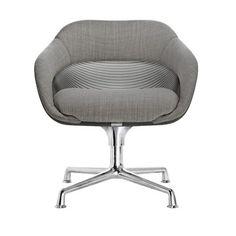 SW_1 Chair Gray Glide & Swivel / Scott Wilson and MINIMAL