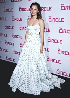 Emma Watson at The Circle Premiere in Paris - 6/21/17