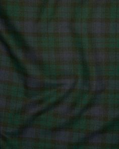 Brushed Cotton | Blackwatch Tartan | Truro Fabrics
