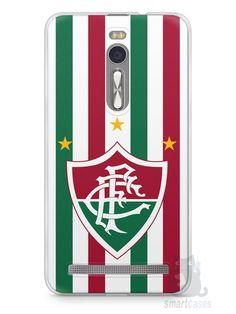 Capa Zenfone 2 Time Fluminense - SmartCases - Acessórios para celulares e tablets :)