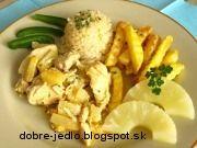 Kari kura s ananásom Potato Salad, Potatoes, Meat, Chicken, Ethnic Recipes, Food, Potato, Essen, Meals