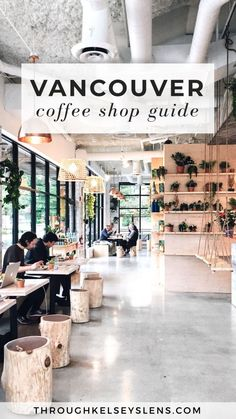 Looking for the best cafes in Vancouver, Canada? Here's my guide to 8 of the most unique and trendy coffee shops and cafes in Vancouver, British Columbia. Canada Vancouver, Vancouver Travel, Vancouver British Columbia, Vancouver Vacation, Vancouver Cafe, Vancouver Shopping, Granville Island Vancouver, Vancouver Skyline, Alberta Canada