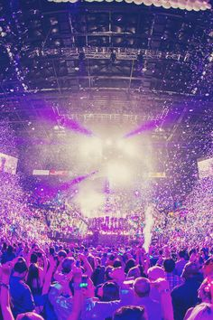 bliss #edm #confetti #lights