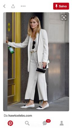 Olivia Palermo arriving At A Office In New York - August 2016 - Office Outfits Style Désinvolte Chic, Street Style Chic, Mode Style, Her Style, Style Olivia Palermo, Olivia Palermo Lookbook, Olivia Palermo 2017, Casual Chic, Style Casual