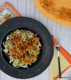 Chickpea butternut squash salad: siimple and delicious!