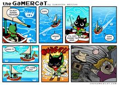 the GaMERCaT :: Winds of Change | Tapastic Comics - image 1