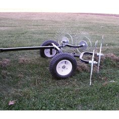 The Yard Tuff Pull-Behind Dethatching Rake turns your ATV or lawn tractor into a time-saving, labor-saving workhorse that can quickly handle large areas.