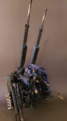 烏鶖-大卷尾式樣  Frame Arms Girl-Architect KOTOBUKYA http://lesupervises.blogspot.tw/